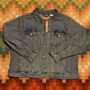 NWT Levi's Original Trucker Denim Jean Jacket 3X